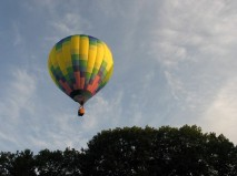 balloon flying