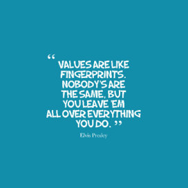 values quote